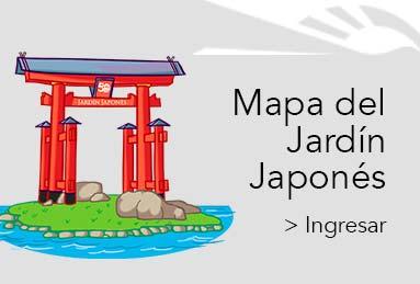 Mapa Jardin Japones